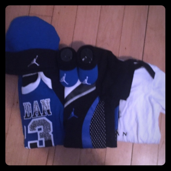 49f173cfec5 Jordan Other - Jordan Onesie Outfit Bundle Baby Boy 0-6 Months